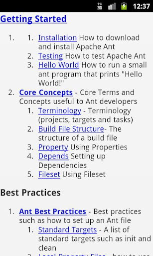 Apache Ant EBook