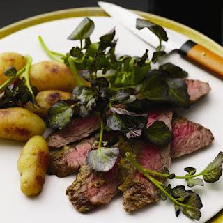 Wasabi Flank Steak.