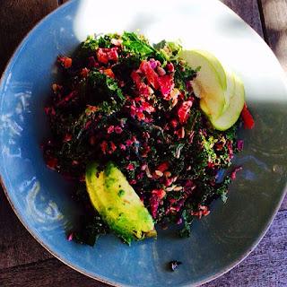 Joe's Raw Kale & Cabbage Salad