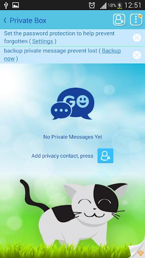 玩娛樂App|GO SMS Pro Sweet Cats免費|APP試玩