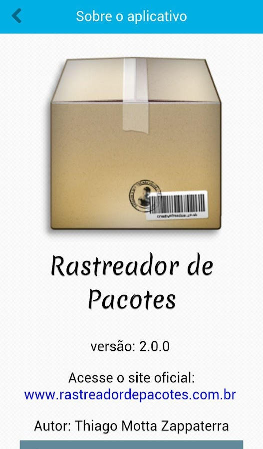 Rastreador de Pacotes - GRATIS- screenshot
