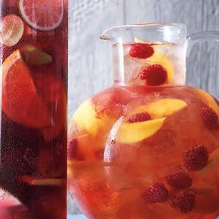 Raspberry-Mango Sangria.