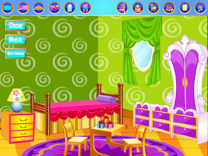 Baby room decorating games for pc and mac for Baby room decoration games online