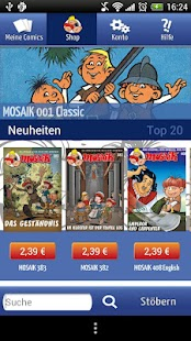 MOSAIK Comics - screenshot thumbnail