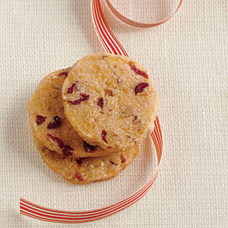 Cranberry-Pecan Cheese Wafers