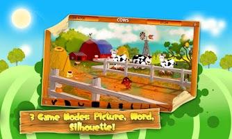 Screenshot of Hidden Objects: Animal Farm