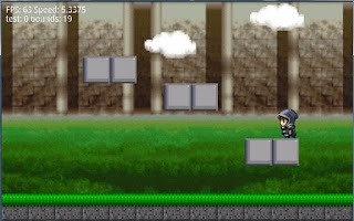 Screenshot of Platformer indev