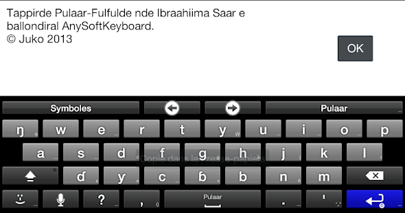 Fulah Language Pack- screenshot thumbnail