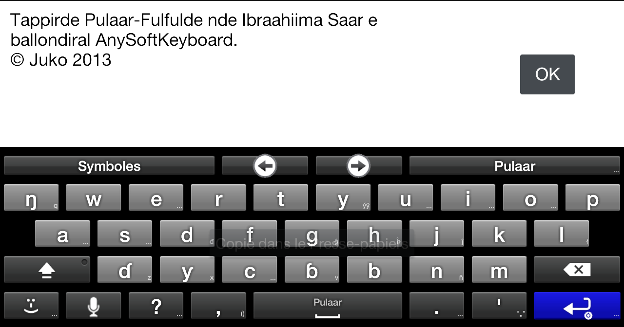 Fulah Language Pack- screenshot