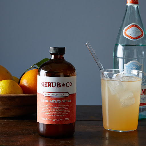 Grapefruit Shrub
