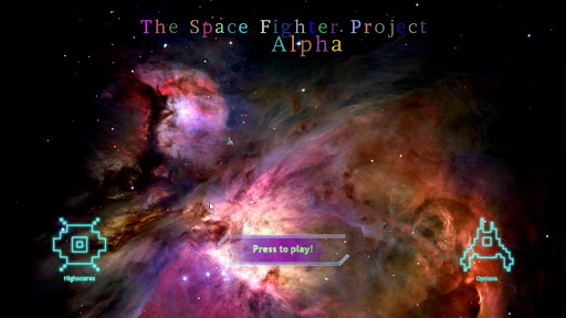 Space Fighter Project Alpha