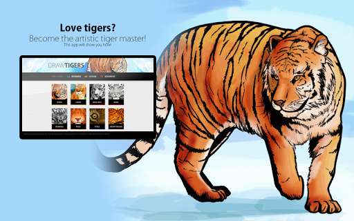 How to Draw Tigers