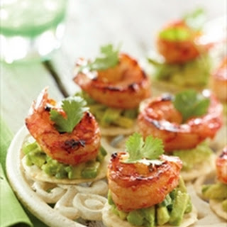 Prawns With Avocado