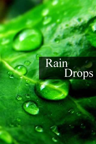Relax Rain drops Sleep- screenshot