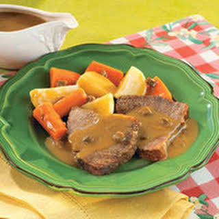 Slow Cooker Savory Pot Roast.