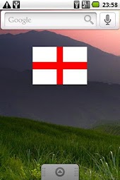 England Flag Widget