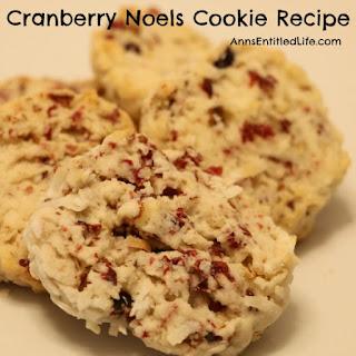 Cranberry Noels Cookie