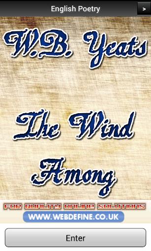 【免費書籍App】Yeats - Wind Among Reeds FREE-APP點子