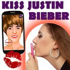 Kiss Justin Bieber icon