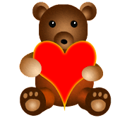 Teddy Bear Battery Widget
