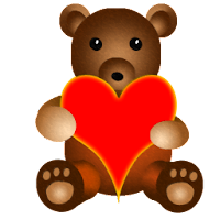 Teddy Bear Battery Widget 4.0