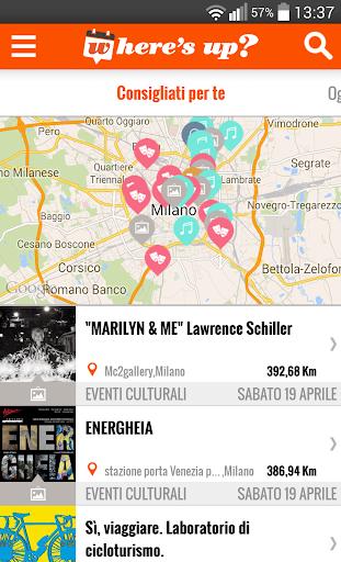 Where's Up - Eventi in Italia