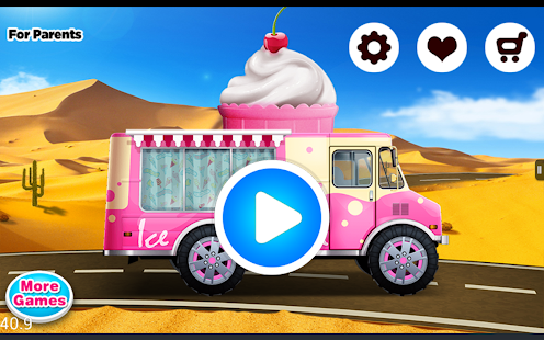 Ice Cream - kids cooking games