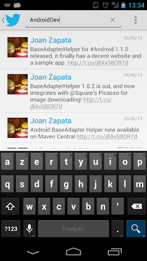BaseAdapterHelper Demo