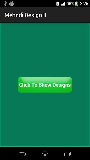Mehndi Design II Arabian