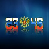 "Live Wallpaper ""Russia Clock"""