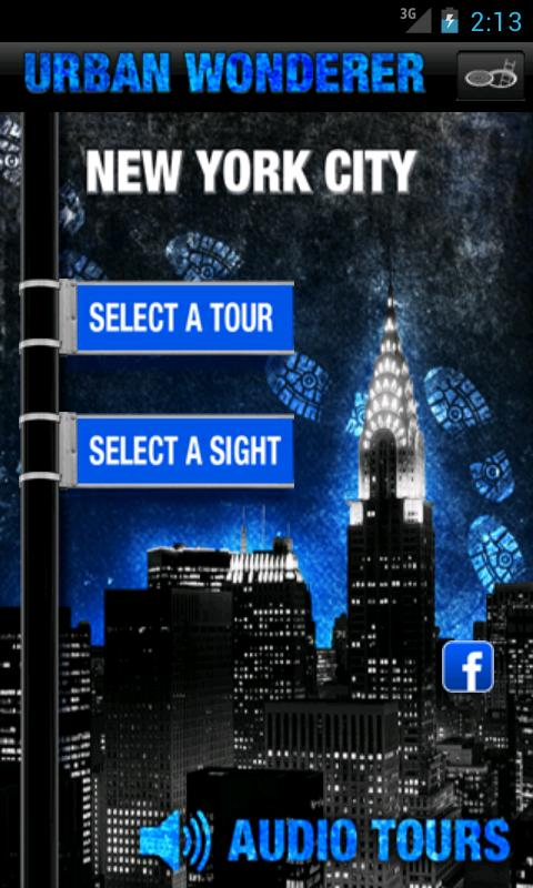 UrbanWonderer NYC Audio Tours - screenshot