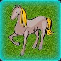 El montar a caballo icon