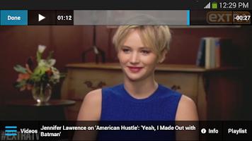 Screenshot of ExtraTV