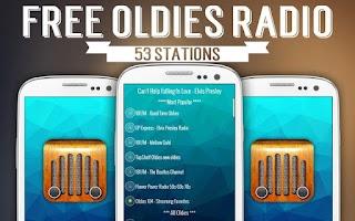 Screenshot of Free Oldies Radio