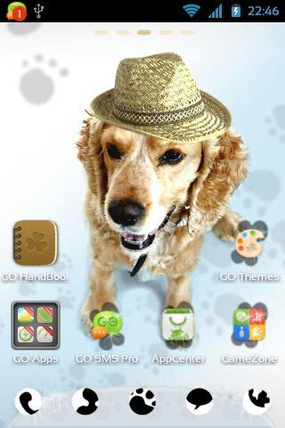 玩免費個人化APP|下載GO桌面EX可爱的小狗主题 app不用錢|硬是要APP