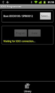 IOIO Manager- screenshot thumbnail