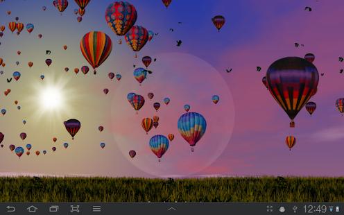 Hot Air Balloons Wallpaper Screenshot