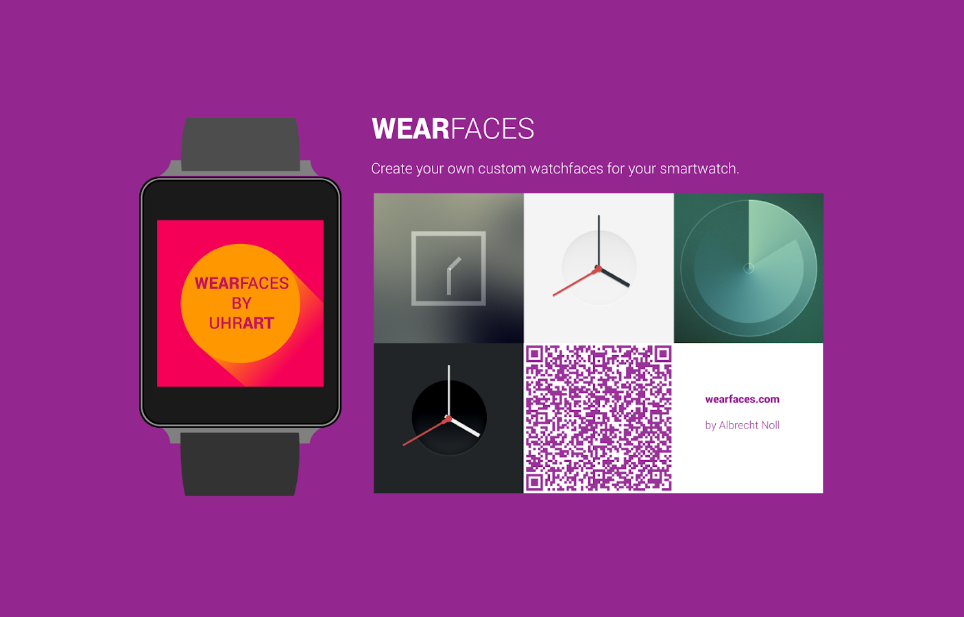 Android Wear Faces Creator- screenshot