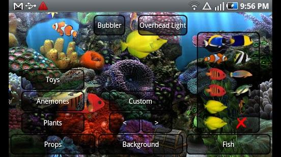 Aquarium Live Wallpaper - screenshot thumbnail