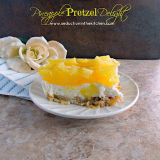 Pineapple Pretzel Delight