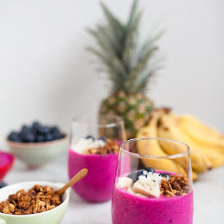 Dragon Fruit Smoothie | #foodpornindex