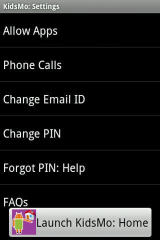 KidsMo - screenshot