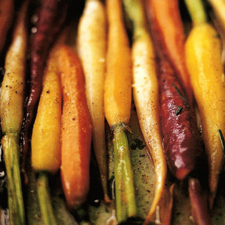 Braised Carrots with Orange and Rosemary