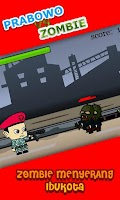 Screenshot of Prabowo vs Zombie