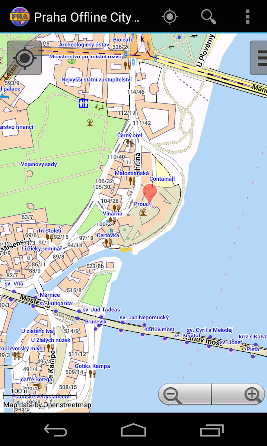 Prague Offline City Map- screenshot