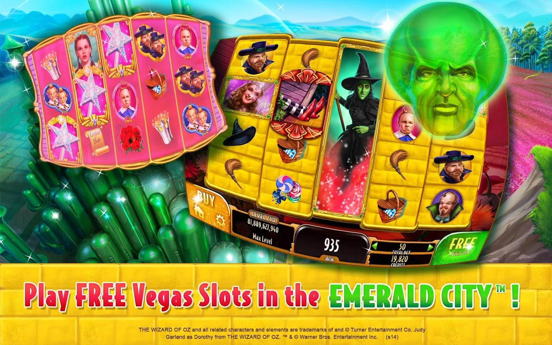 free online wizard of oz slot adventure games