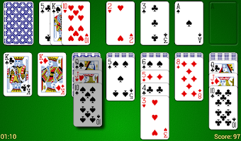 Screenshot of Odesys Solitaire