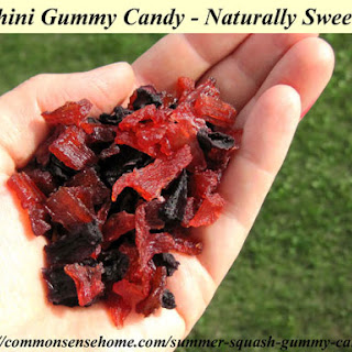 Zucchini Gummy Candy - Naturally Sweetened Recipe