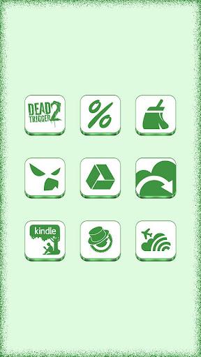 VRS White-Green Icon Pack