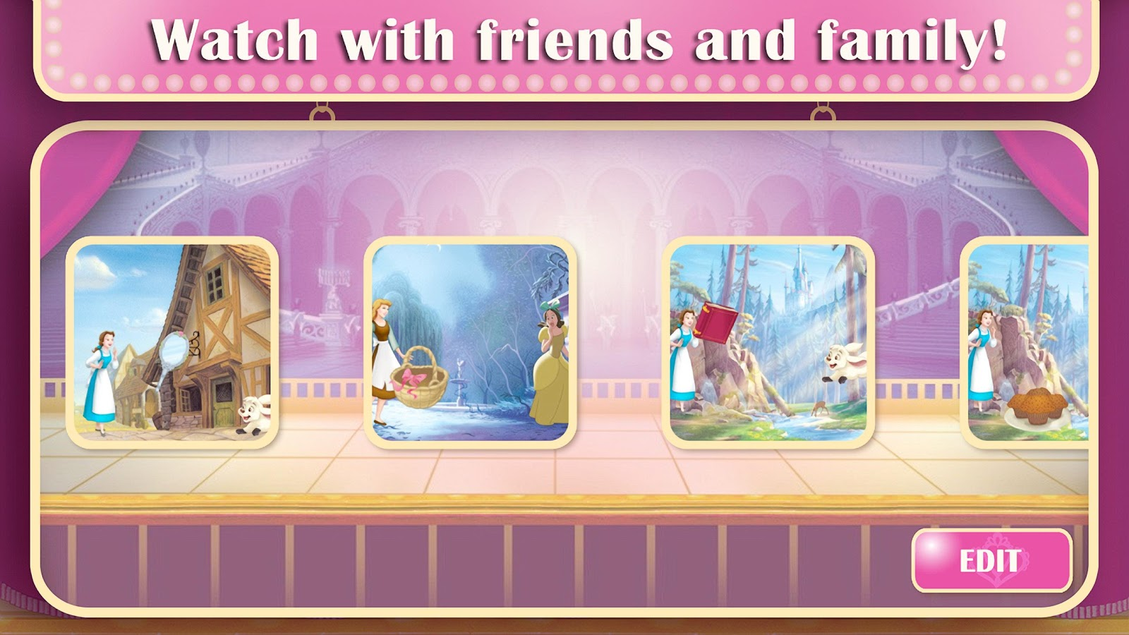 Disney Princess: Story Theater- screenshot